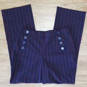 Loft sailor dress pants